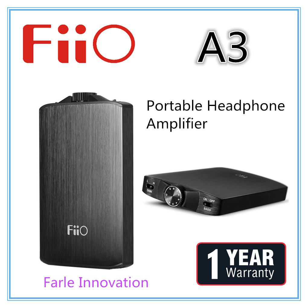 Fiio A3 Portable Headphone Amplifier Coupon
