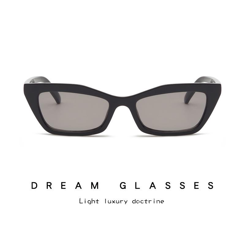 Kotak kecil kacamata mata kucing Tren fashion untuk pria dan wanita model Kacamata baru 33123 Grosir