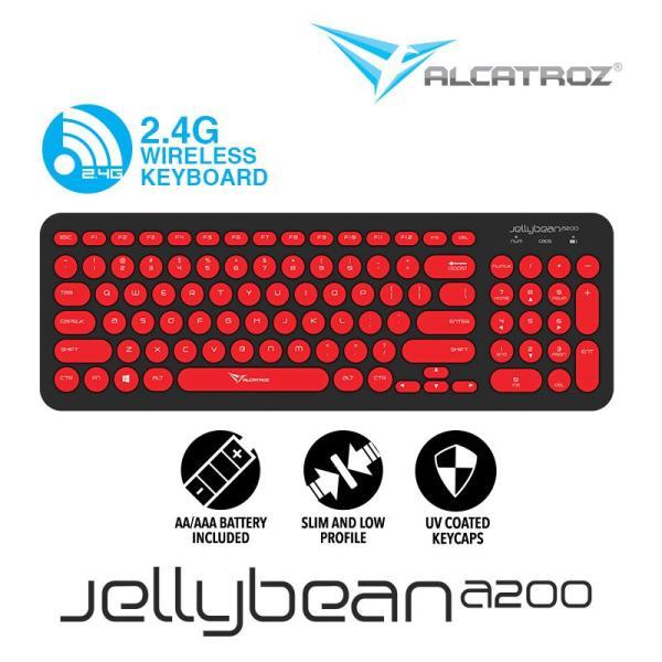 Alcatroz 2.4G Wireless keyboard JellyBean A200 Singapore