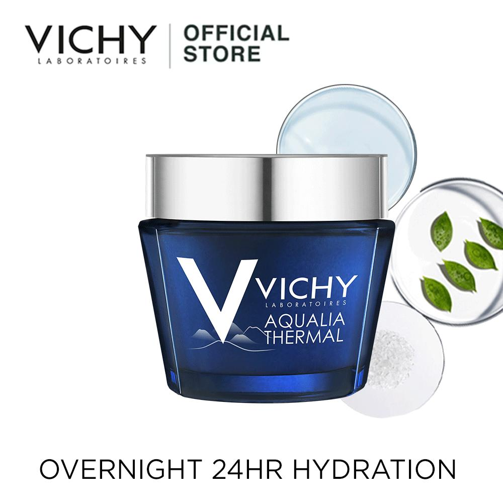 New Vichy Aqualia Thermal Night Spa Sleeping Mask 75Ml