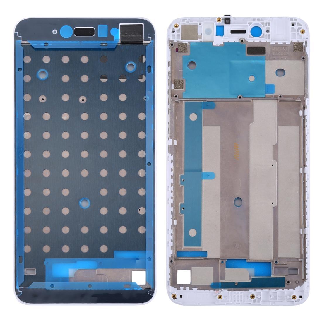 Hunian Depan Bingkai Bezel LCD untuk Xiaomi Redmi Note 5A/Y1 Lite (Putih)