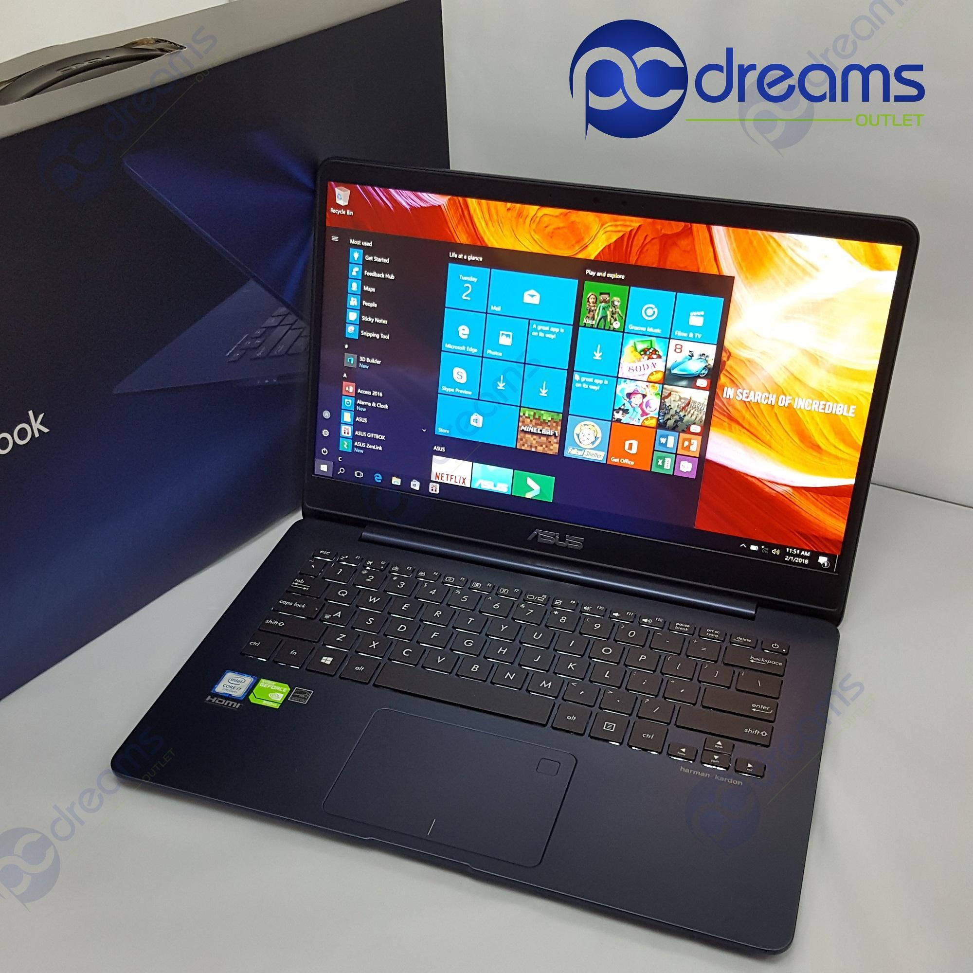 GSS PROMOTION! ASUS ZENBOOK UX430UN-GV027T i7-8550U/16GB/512GBSSD [Premium Refreshed]