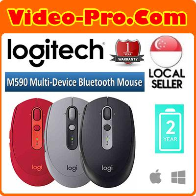 Logitech M590 Multi-Device Silent Bluetooth Mouse for Windows/Mac