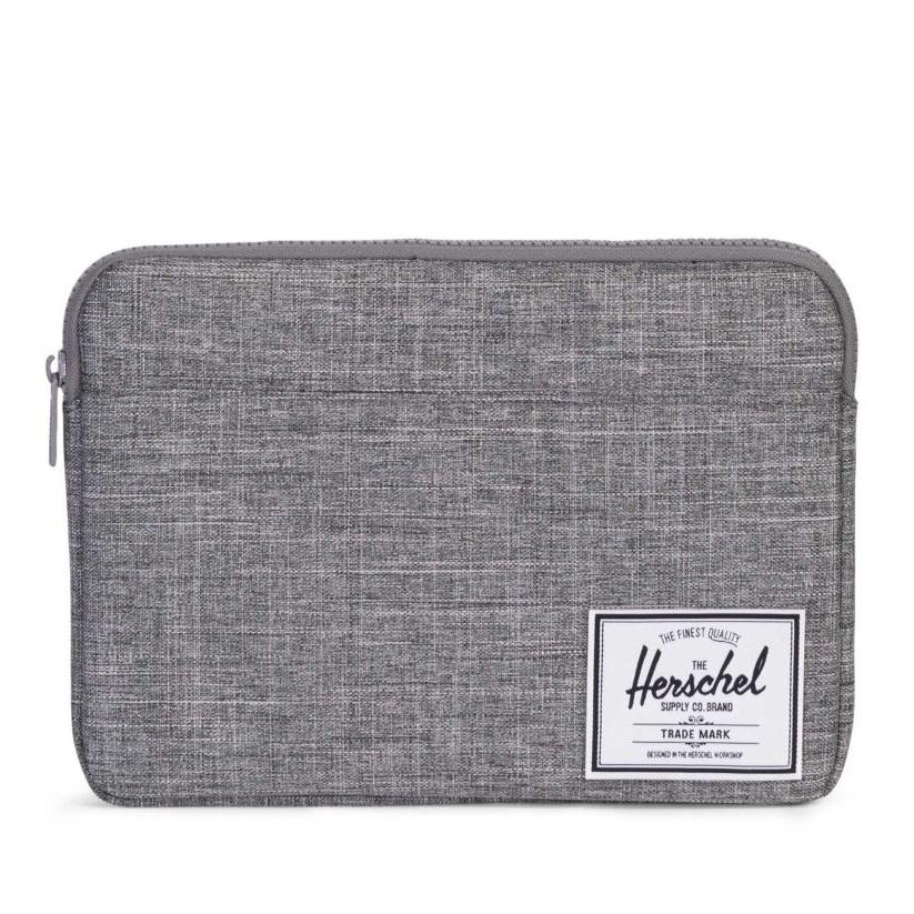 Low Price Herschel Anchor Sleeve 13 Inch New Raven Crosshatch