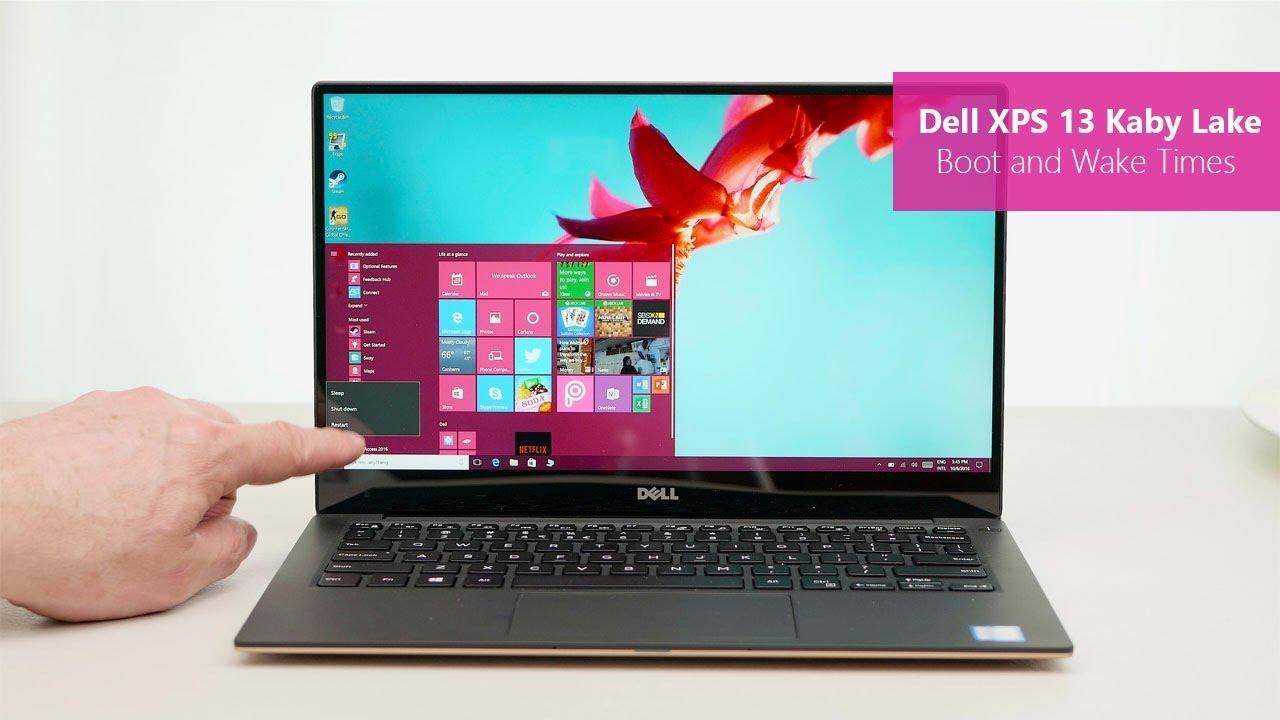 DELL New XPS 9360 7th Gen i7 7500U 4MB Cache up to 3.5 GHz 8GB RAM 256gb SSD Full HD Intel HD Graphics 13 inch display Windows10H