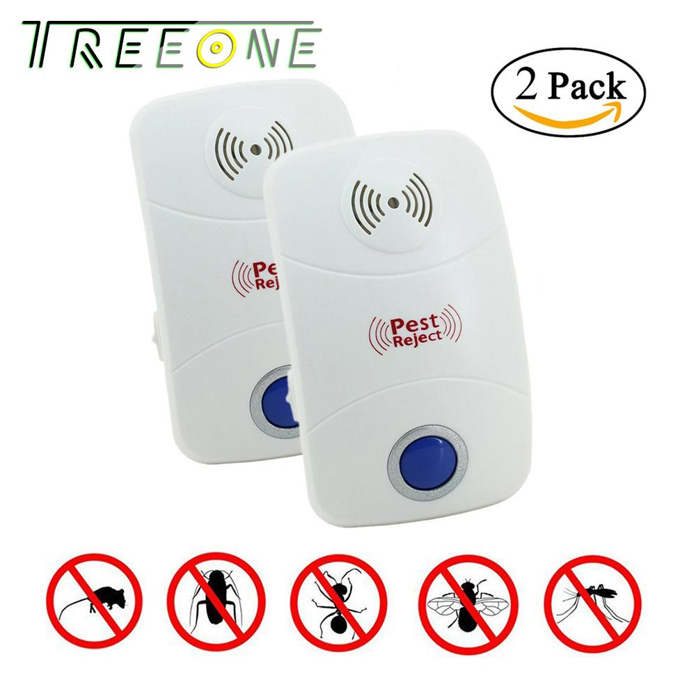 Buy Electric Insect Killers Mosquito Repellent Circuitbest Repellentindoor Ultrasonic Pest Repeller Electronic Plug In Indoor Control With Night Light