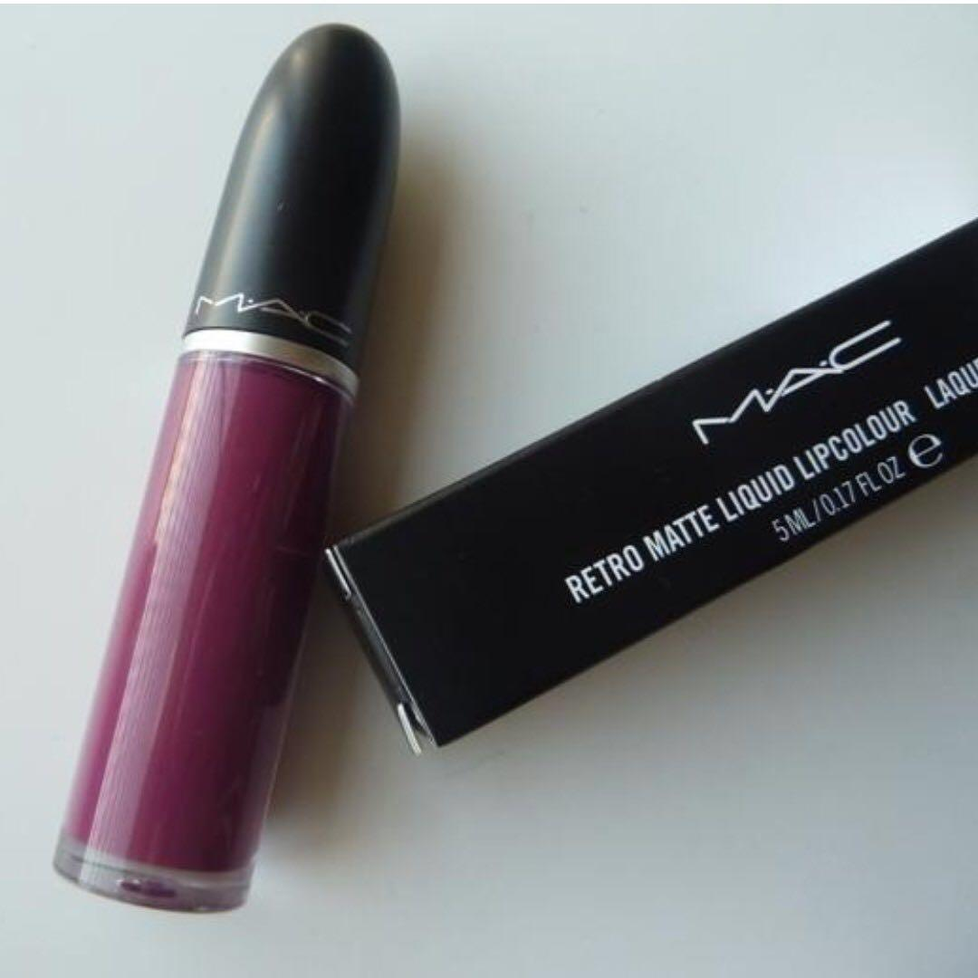 Image result for mac retro matte liquid lipstick Oh, Lady