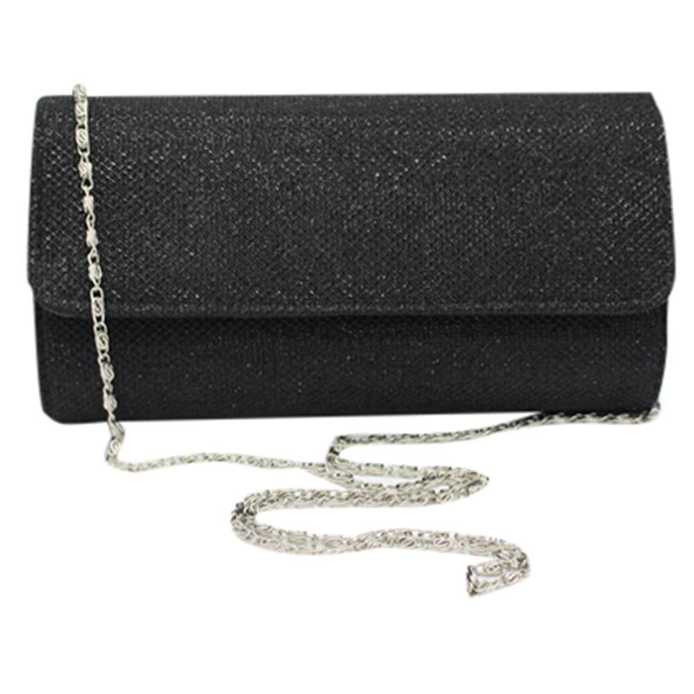 7635f6e36c Pioneer 2019 Women's Evening Bag Clutch Sparkling Glitter Party Handbag  Wedding Bag