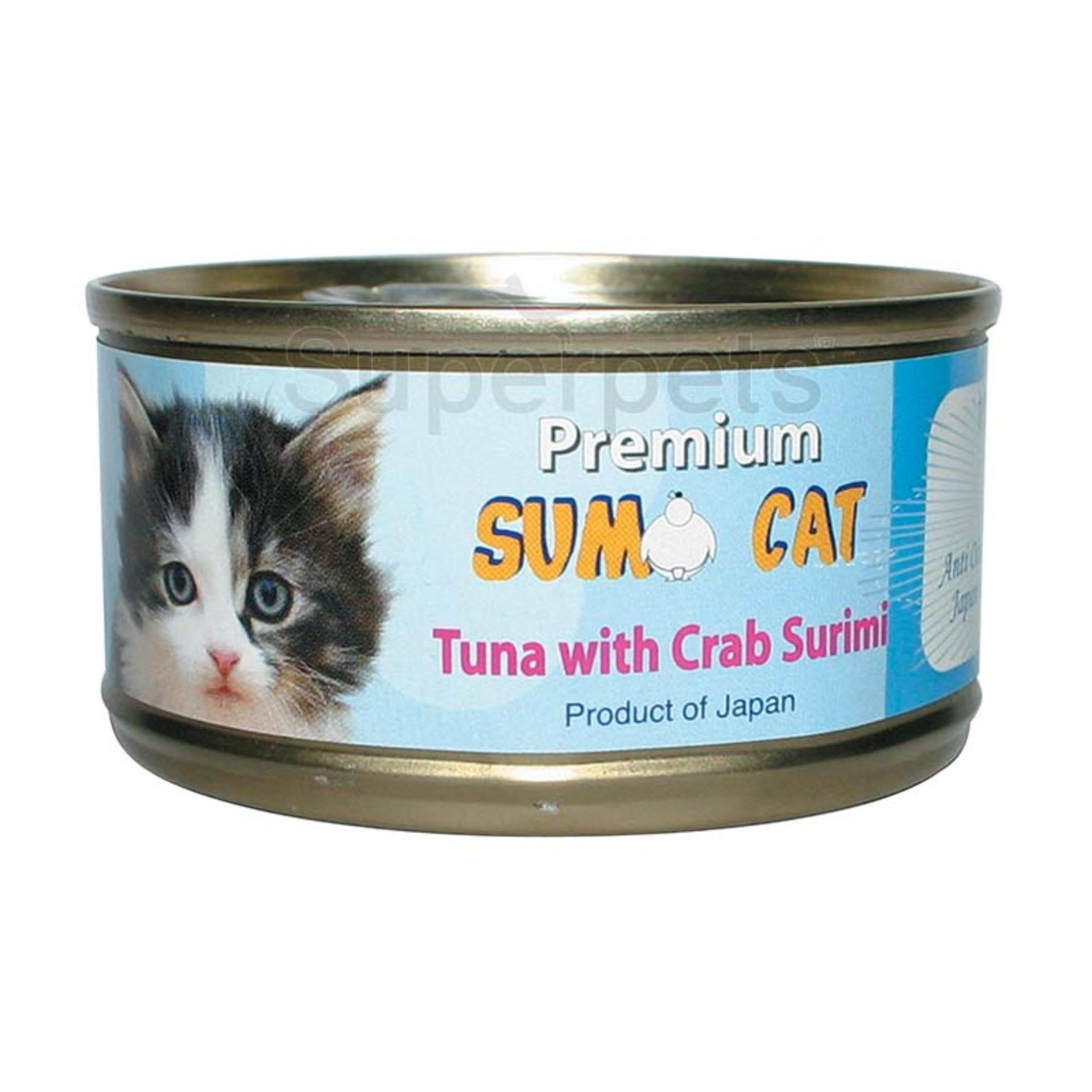 Where Can You Buy Sumo Cat Tuna With Crab Surimi 80G 24Pcs