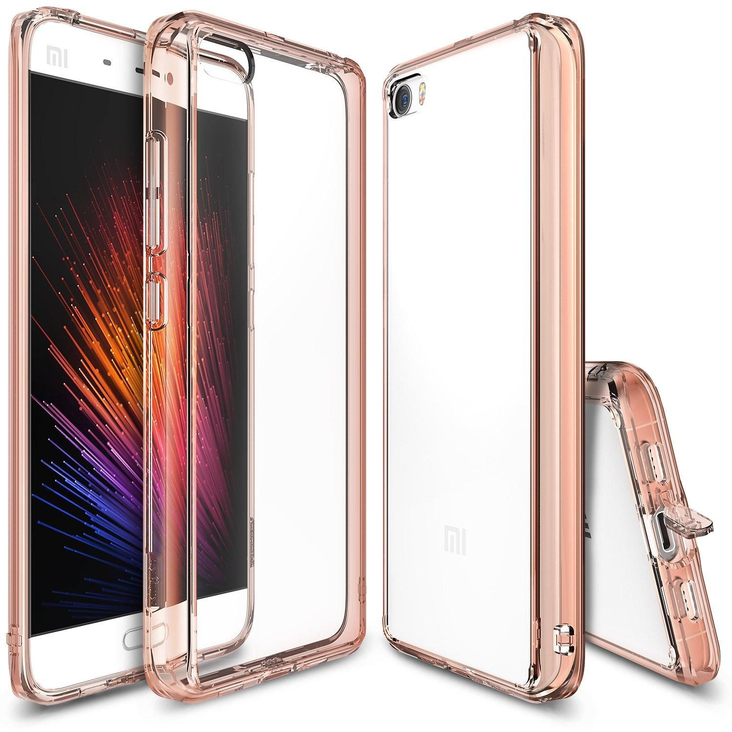 Ringke Fusion Shock Absorption Tpu Bumper Case For Xiaomi Mi 5 Rose Gold Coupon