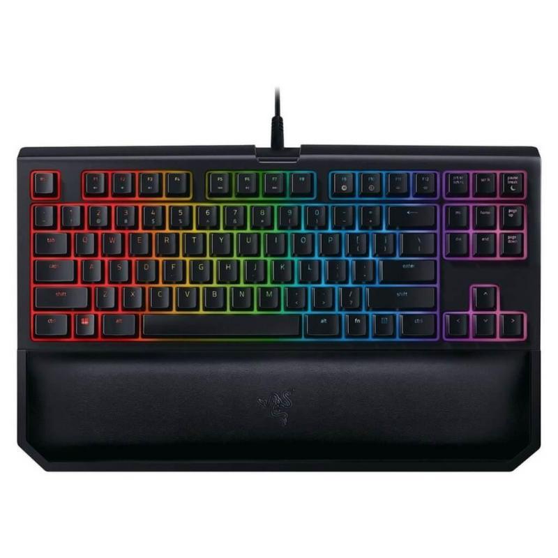 Razer BlackWidow Tournament Edition Chroma V2 Orange Switch Mechanical Gaming Keyboard Singapore