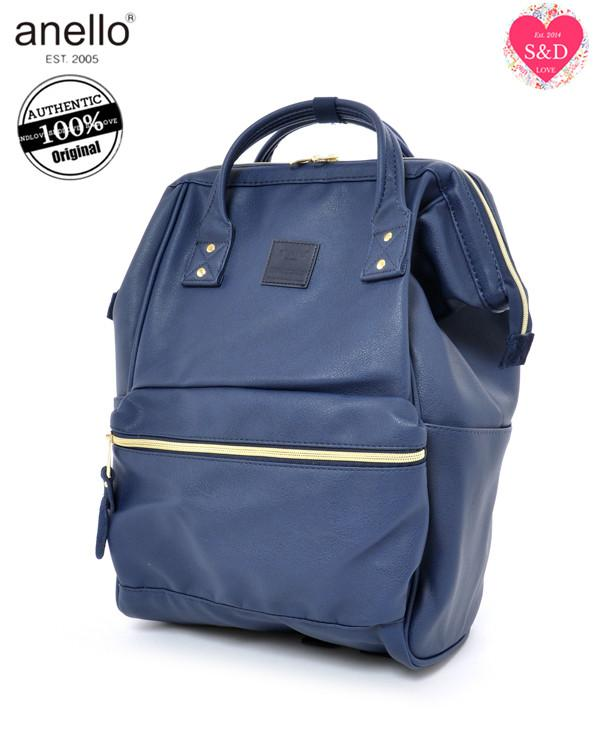 Price Comparisons Anello Original Japan Unisex Backpack New 2018 Faux Leather Large Size