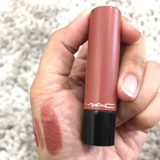 Image result for M.A.C Liptensity Lipstick smoked almond
