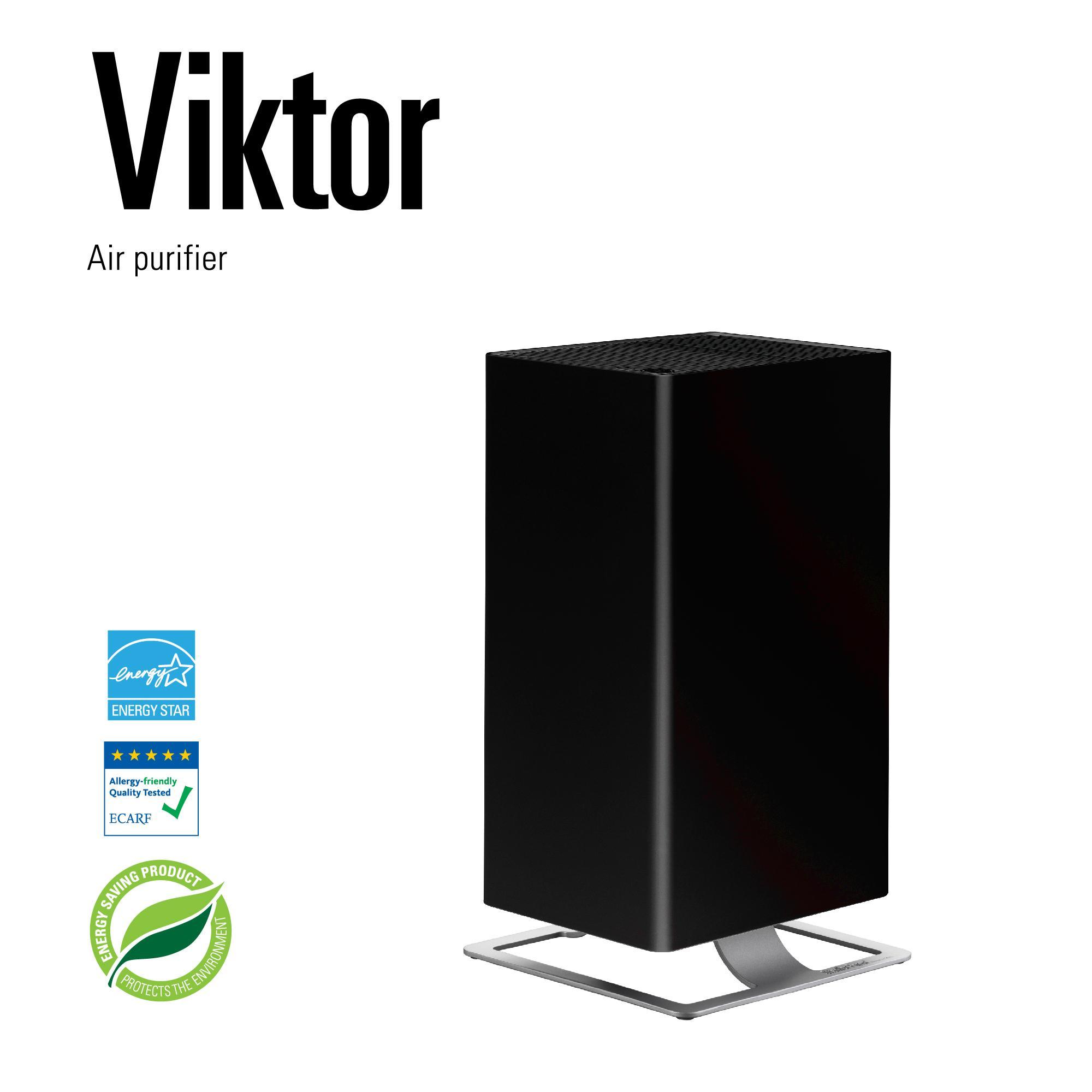 Promo Stadler Form Viktor With 5 Cleaning Levels Washable Hpp Active Carbon Filters Black