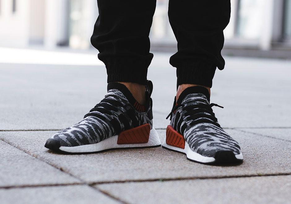 lowest price 557e9 995f0 Adidas NMD R2 Future Harvest