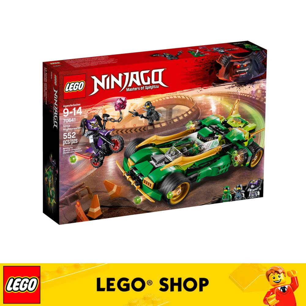 Get The Best Price For Lego® Ninjago Ninja Nightcrawler 70641