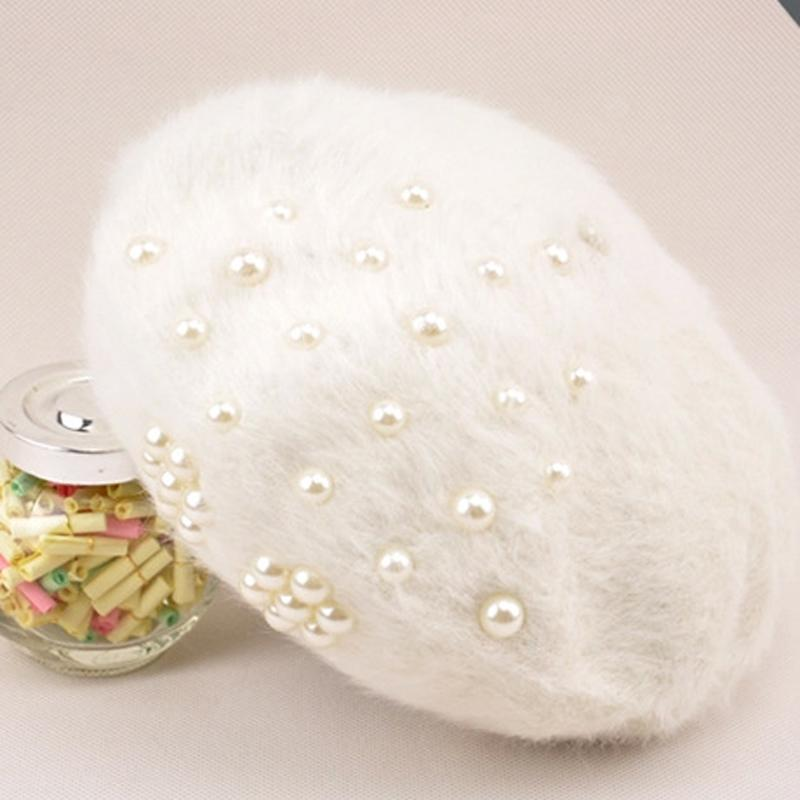 Topi wanita Gaya Korea model Musim Semi dan Musim Gugur Topi Rajutan modis . f3f758aee4