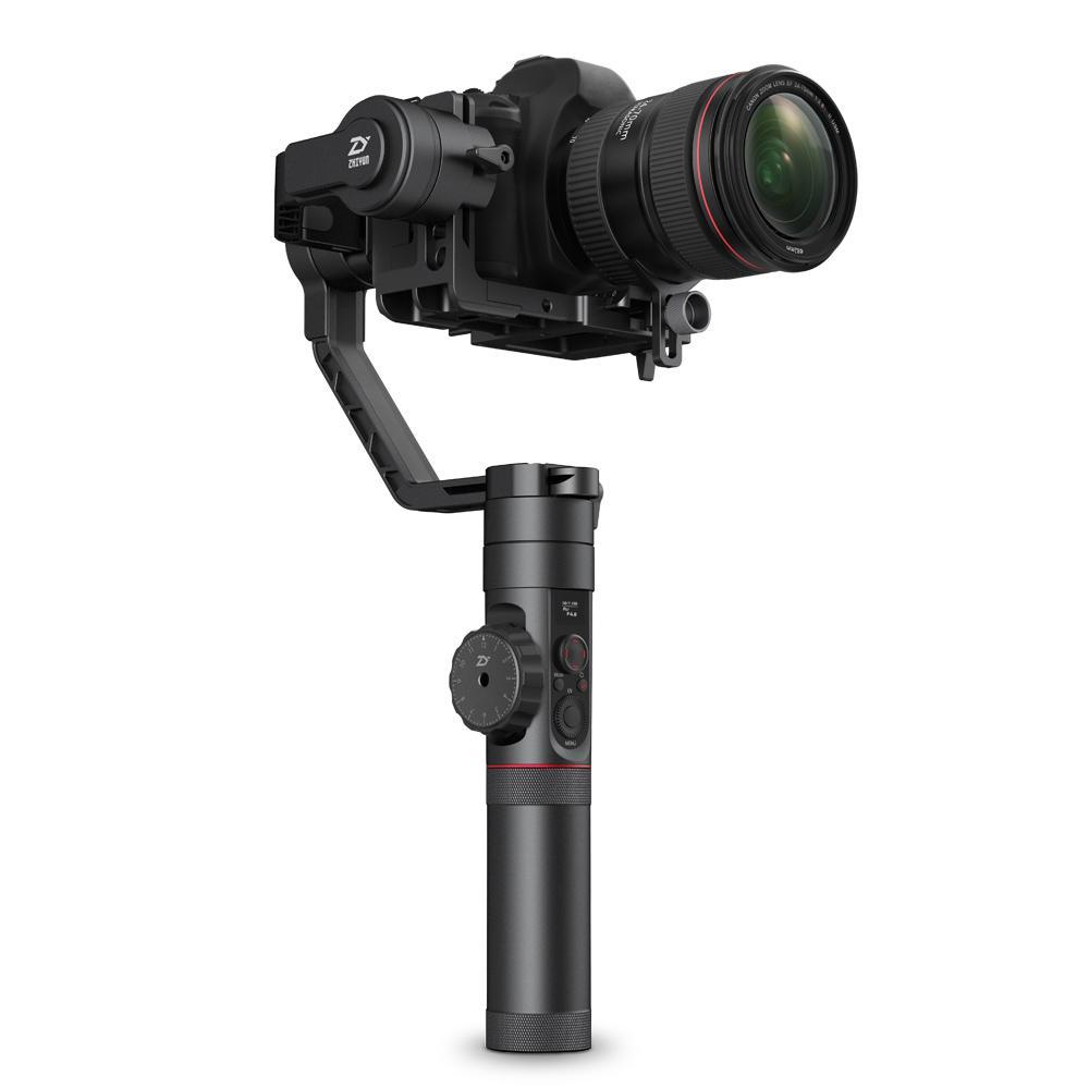 Zhiyun Resmi Crane 2 3-Axis Penstabil Kamera untuk Semua Model DSLR Kamera Mirrorless Canon 5D2/3/4 dengan Servo Ikuti Fokus
