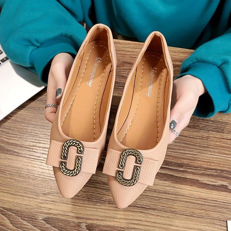 Men's casual female New style pointed moccosins Pumps