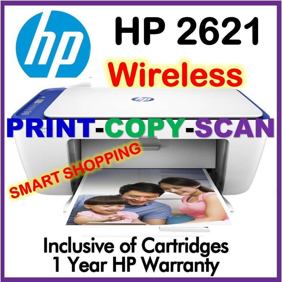 Sale Hp Dj2621 All In One Deskjet Printer 2621 D2621 Wireless Print Scan Copy Upgraded Model Of 3630 2620 2130 Hp