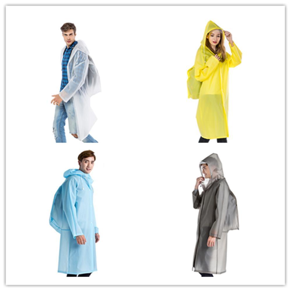 Who Sells Fashion Women Men Eva Transparent Raincoat Poncho Portable Environmental Light Raincoat Long Use Rain Coat Hogard Intl The Cheapest