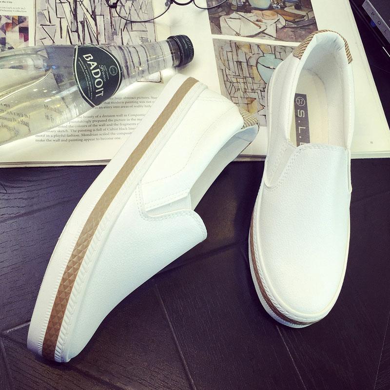 Recent Korean Style Female Flat Students Shoes Canvas Shoes