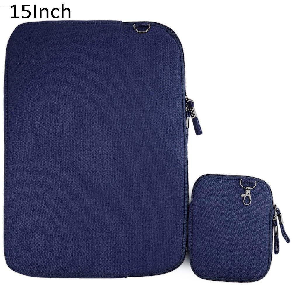 Discount 15 Inch Denim Canvas Laptop Notebook Sleeve Case Bag Pouch Cover For Macbook Air Pro Intl Minicar