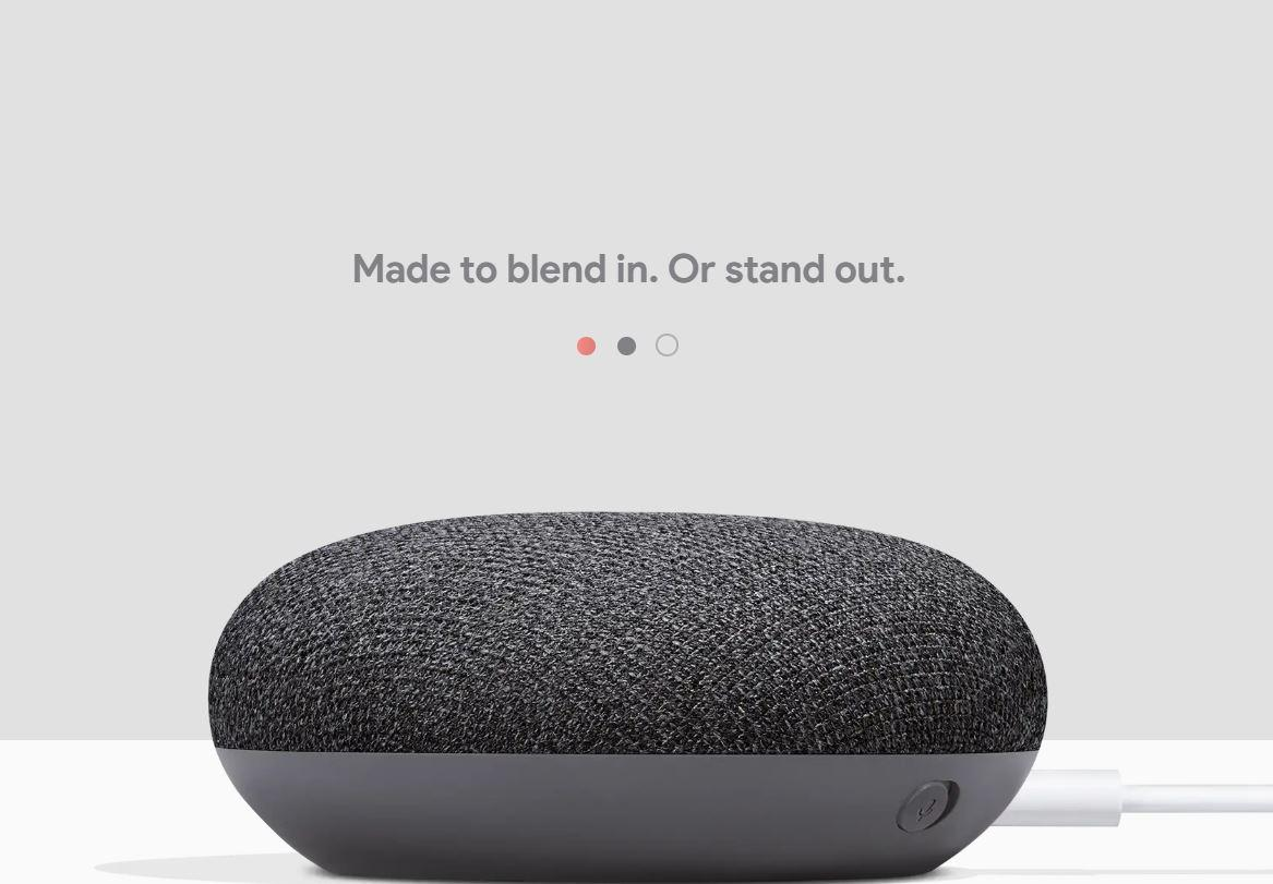 Get Cheap Google Home Mini 1 Year Google Singapore Warranty Chalk And Charcoal