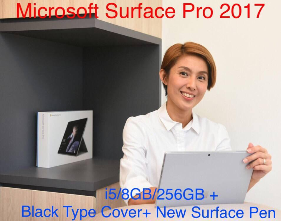 Compare Surface Pro 5 I5 8Gb 256Gb Black Type Cover New Surface Pen Prices