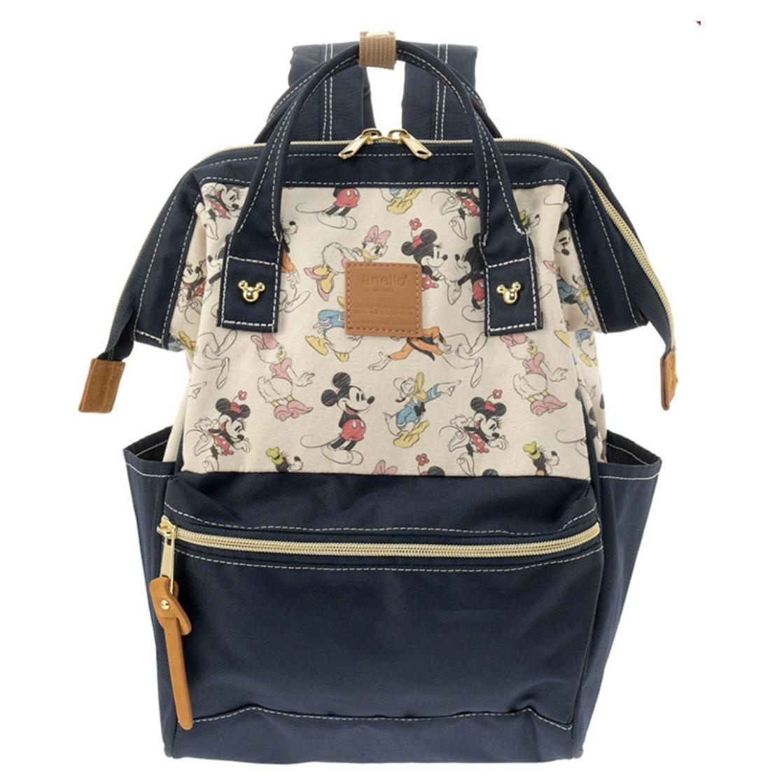 Gss Limited Time Disney X Anello Exclusive Collections Backpack Medium Size