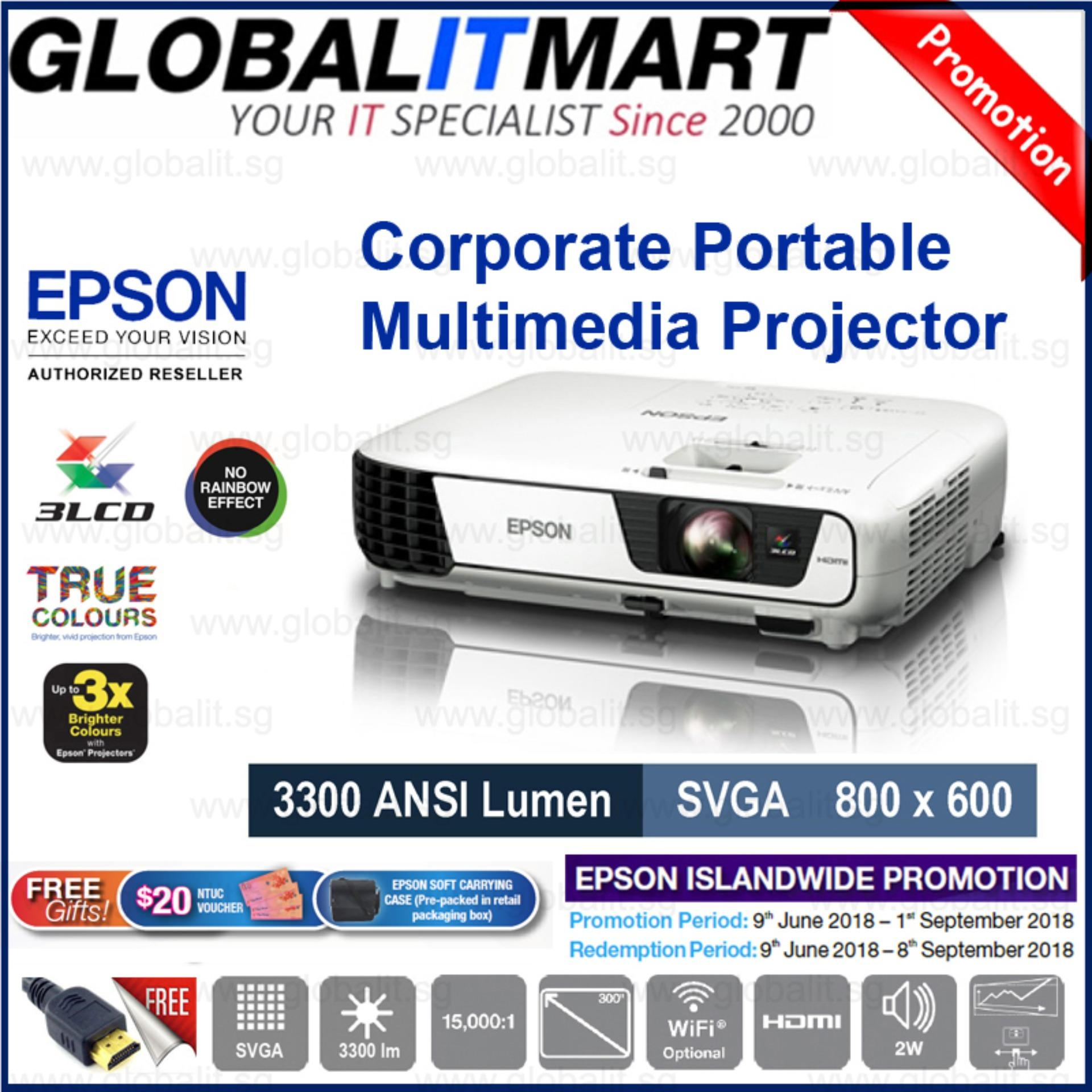 Discount Epson Eb S41 Svga 800X600 3Lcd Business Projector Epson On Singapore