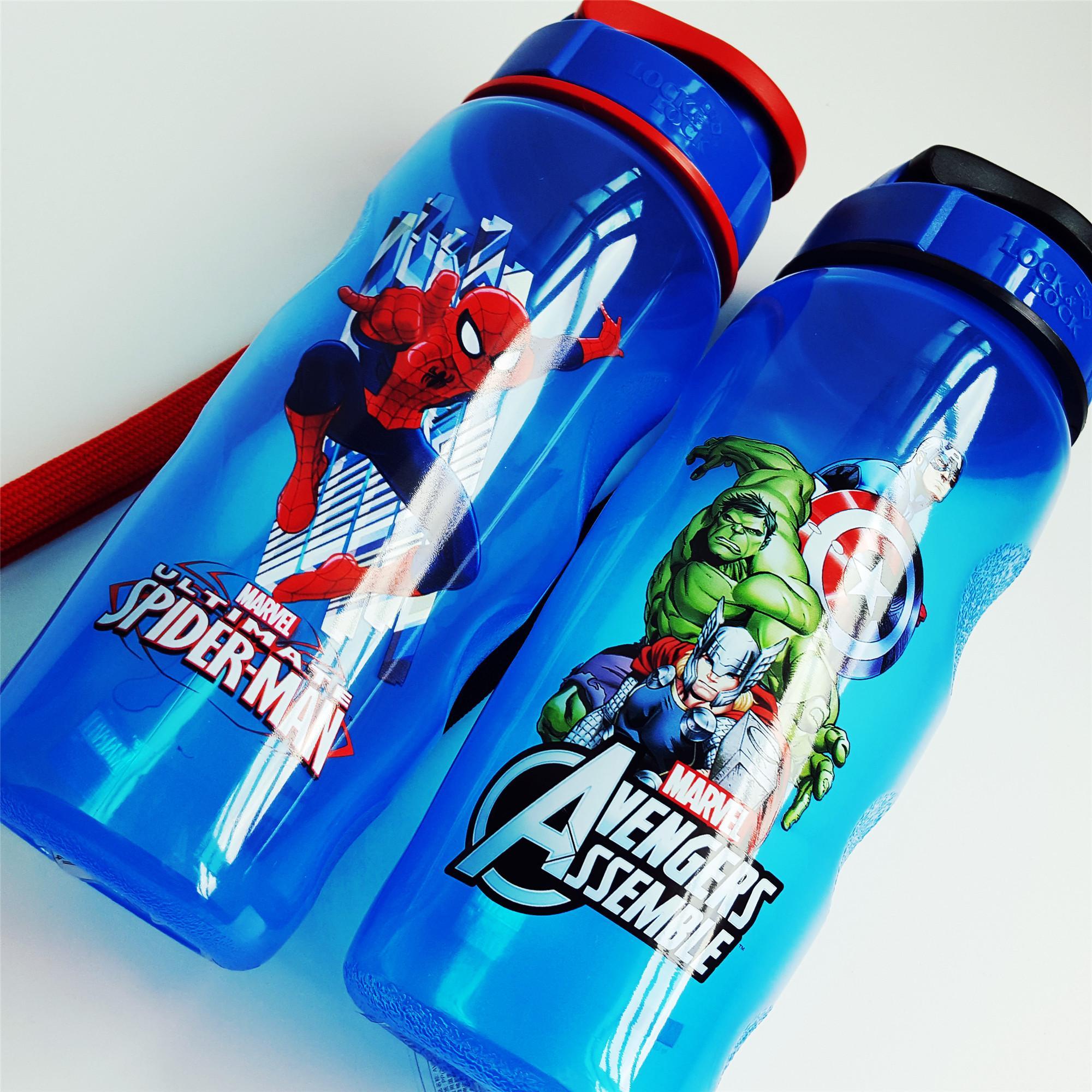 Review Lock Lock Avenger Spiderman Water Bottle 500Ml On Singapore