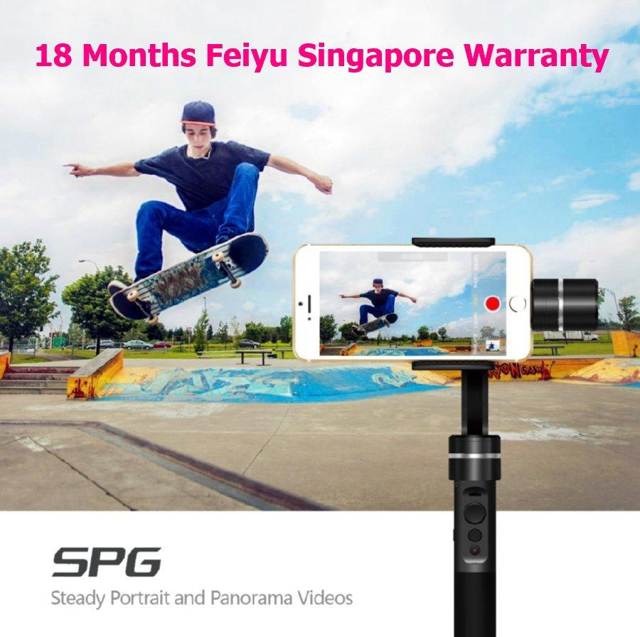 Buy Free Mini Tripod Feiyu Spg Splash Proof New Version 3 Axis Smartphone And Action Camera Electronic Handheld Gimbal Stabilizer