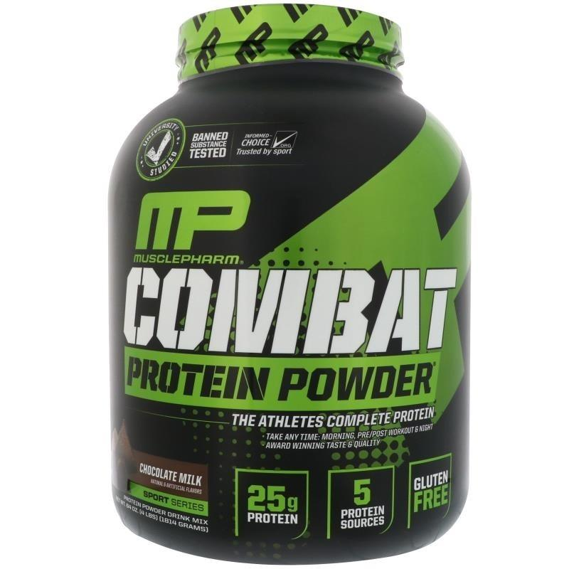 Musclepharm Combat Powder 4Lb Chocolate Milk Shop
