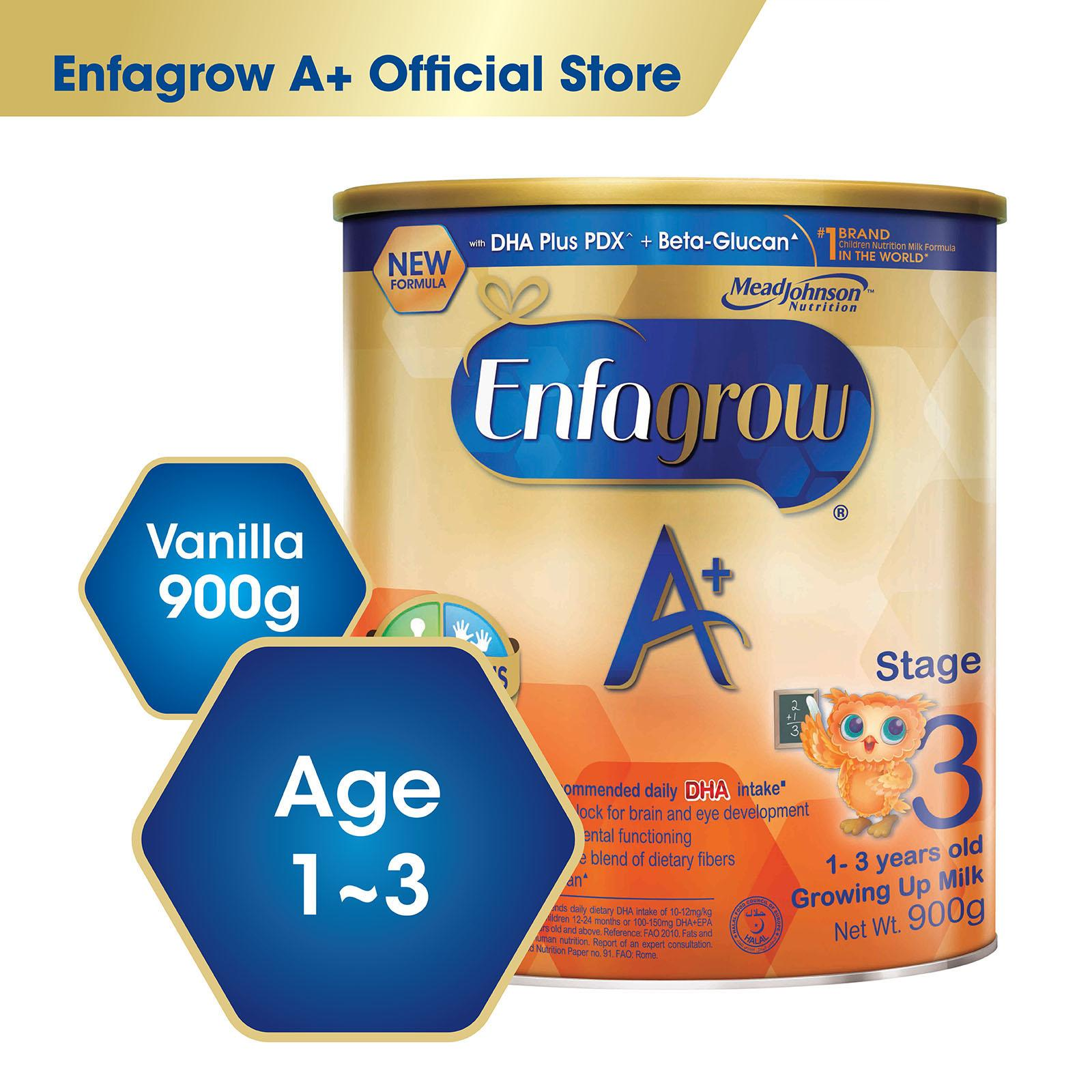 Best Buy Enfagrow A With 360O Dha Plus Stage 3 Milk Formula Vanilla 900G