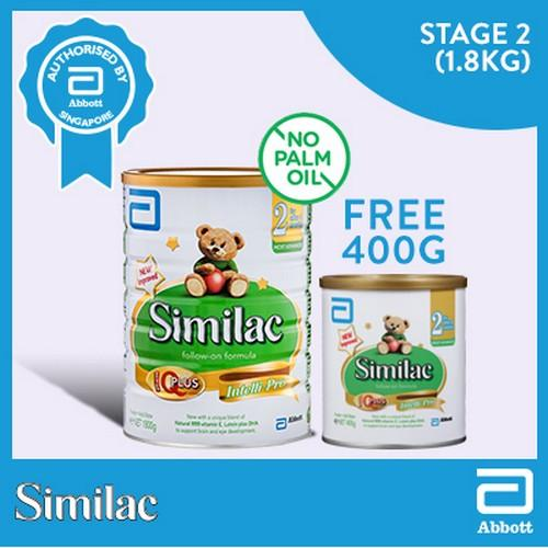Similac Stage 2 Follow On Formula 1 8Kg Free 400G Singapore