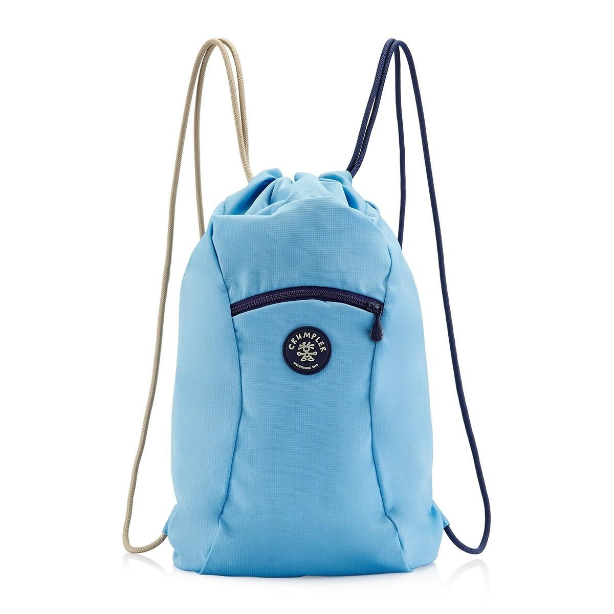 Price Crumpler Squid Drawstring Backpack Sail Blue Online Singapore