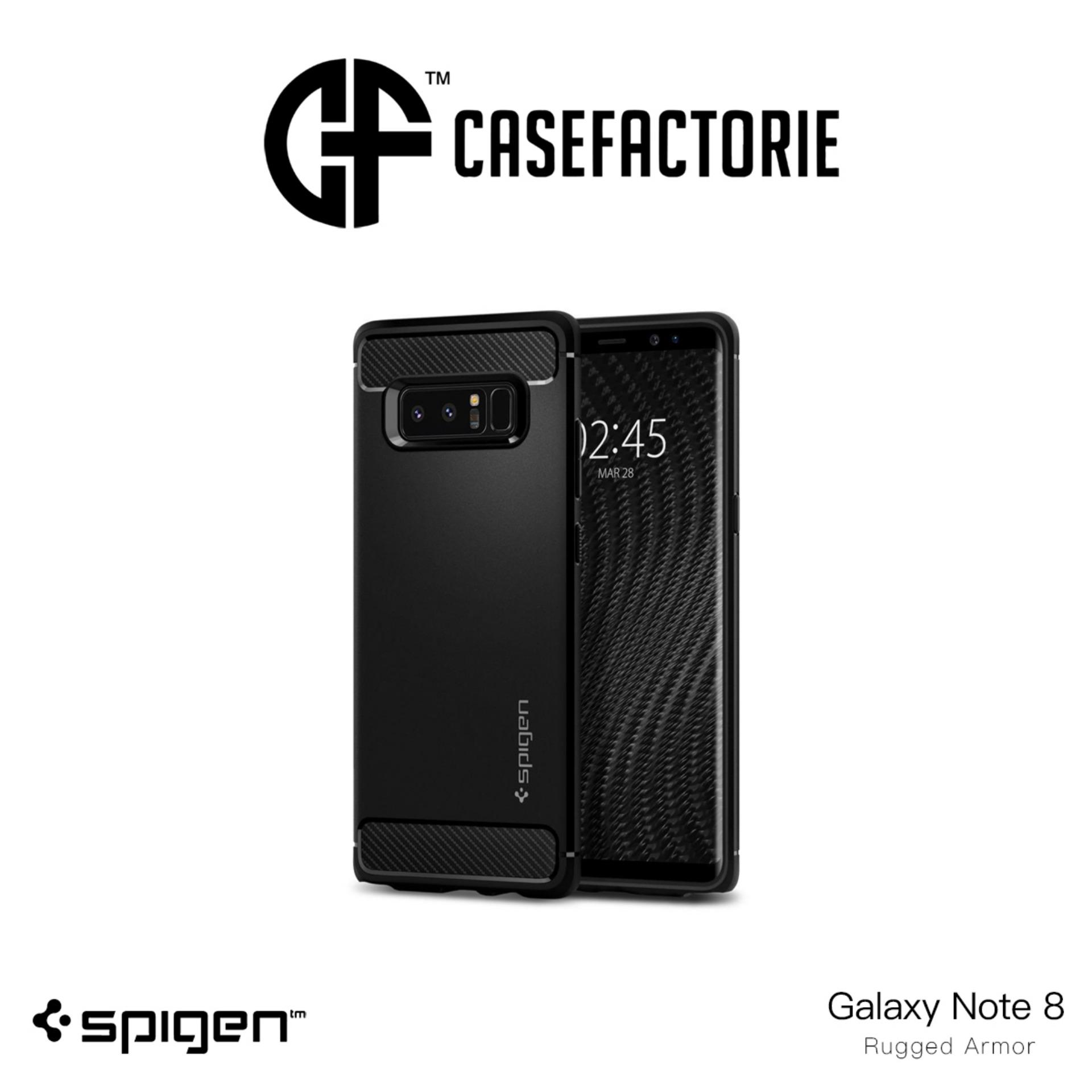 Spigen Rugged Armor Case For Samsung Galaxy Note 8 Free Shipping