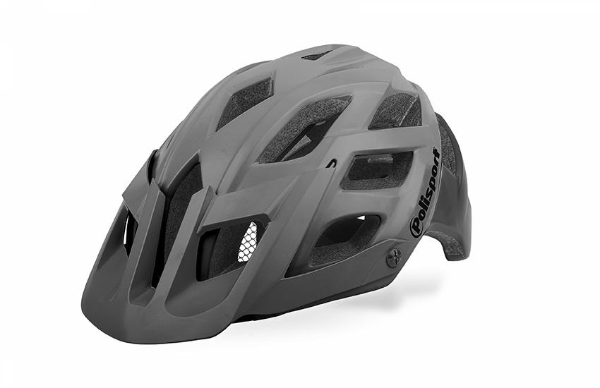 Compare Bike Helmet Polisport E3 Size Large Grey Black Prices