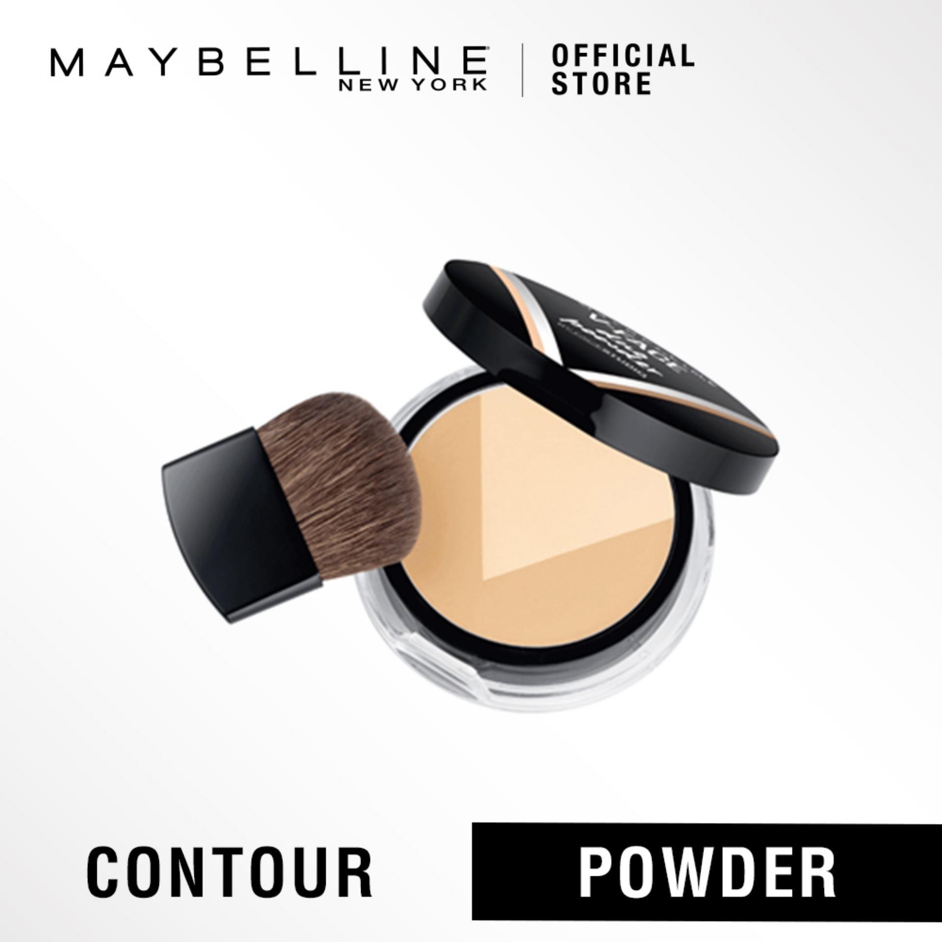 Maybelline V Face Duo Powder Bedak Contouring Light Dark Original Meyne Lazada