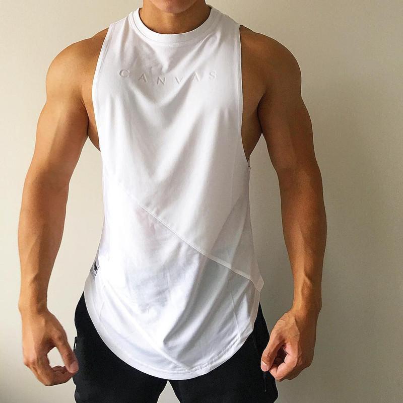 Brother เสื้อยืดเสื้อกล้ามชายหลวมแขนกุดแห้งเร็ว By Taobao Collection.