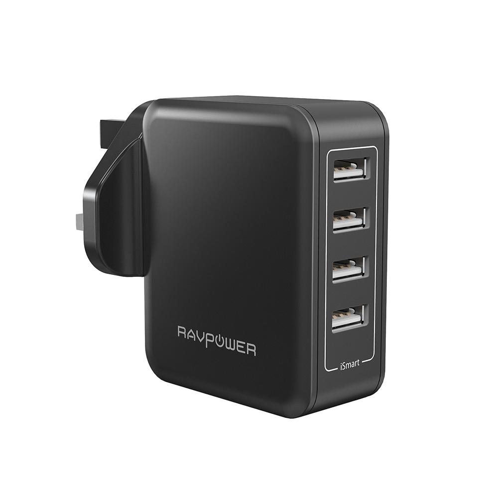Cheapest Ravpower 40W 4 Port Wall Charger Rp Pc026 Online