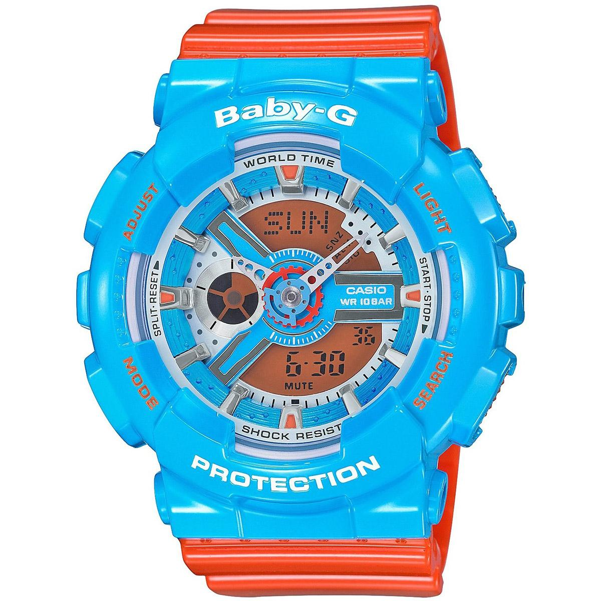Best Buy Casio Watch Baby G Red Resin Case Resin Strap Ladies Ba 110Nc 2A