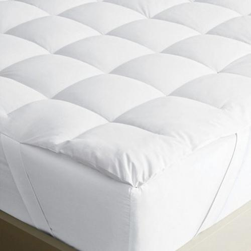 Nile Valleys 5 Star Hotel Egyptian Cotton Maxi Protection Cool Padded Mattress Protector Cum Topper.