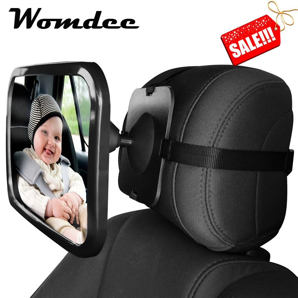 Great Deal Womdee Baby Car Mirror Back Seat Mirror For Cars With Headrests Intl