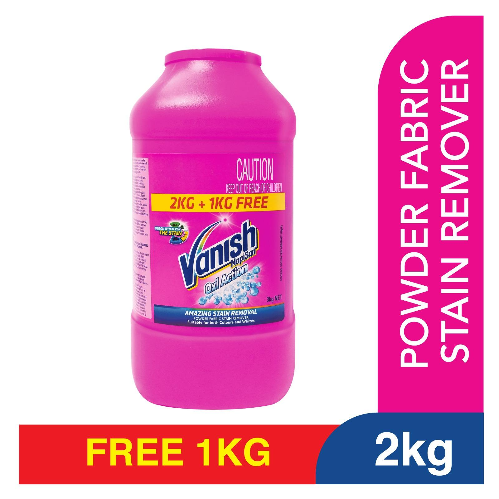 Discount Vanish Napisan Oxi Action Powder 2 Kg 1 Kg Free Laundry Stain Remover Singapore