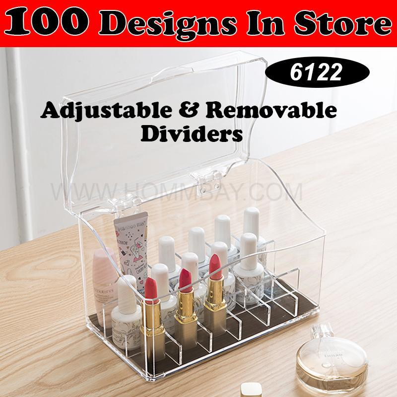Compare Price Clear Acrylic Transparent Make Up Makeup Lipstick Brush Brushes Cosmetic Jewellery Jewelry Organiser Organizer Drawer Storage Box Holder I Large I Stackable I Lotl 6122 Hommbay On Singapore