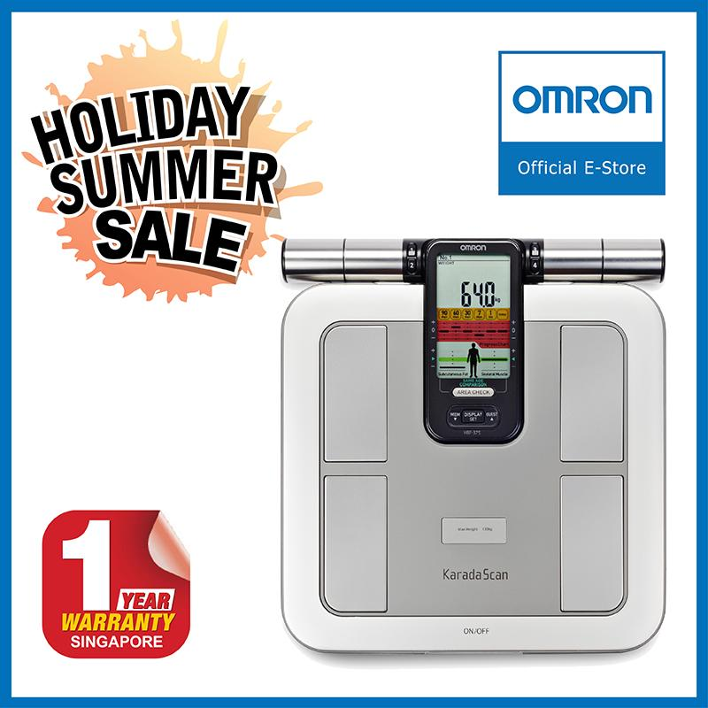 Discount Omron Body Composition Monitor Hbf 375 Omron Singapore