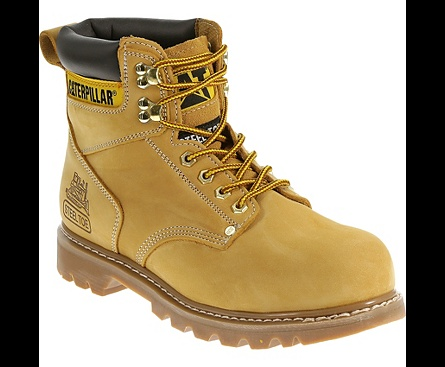 1968f1ba6f0d CAT Footwear Second Shift Steel Toe Safety Boots (Honey Reset ...