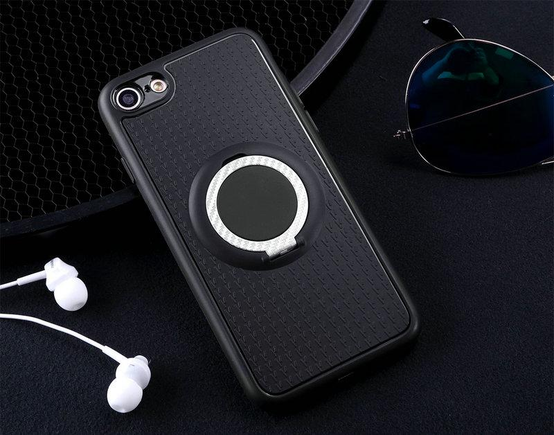 Case For Xiaomi Redmi Note 5 Car Magnetic Suction Bracket Finger Ring Soft TPU Back Cover for Xiaomi Redmi Note 5 Global Version